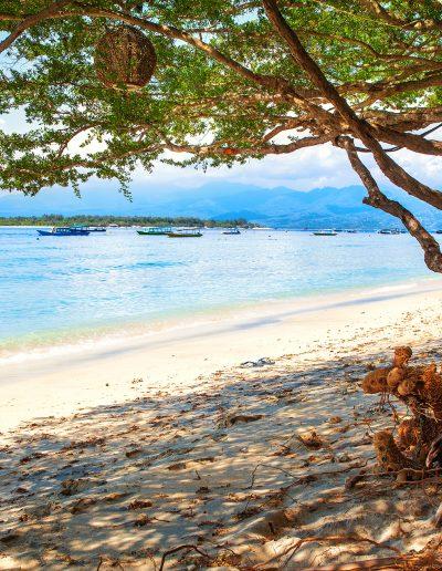 Gili Trawangan, Bali, Indonesien, Strand, Meer, Sonne, Wasser, Blau