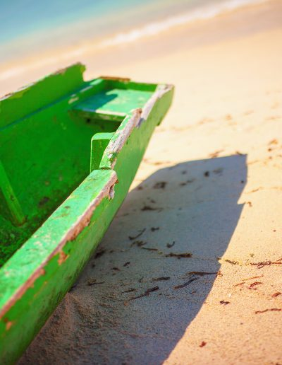 Gili Trawangan, Bali, Indonesien, Strand, Meer, Boot, Wasser, Blau