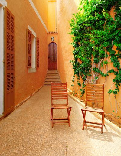 Palma, Gasse, Stuhl, Stadt, Tourismus