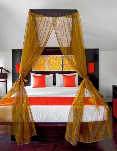 Zimmer, Hotel, Bett, Indonesien, Villa, Doppelbett