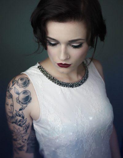 Kinky, Gin Gin, Model, Tattoo, Piercing, Make Up