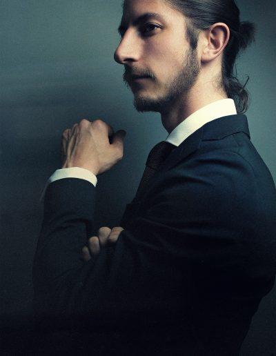Mario, Male, Model, Anzug, Bart, Business