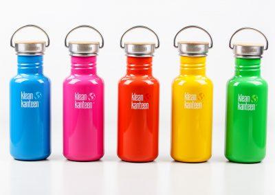 Klean Kanteen, Flasche, Thermoskanne, Deckel, Metall, Holz