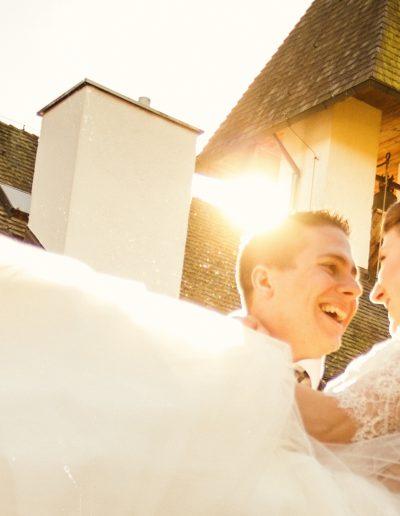 Sonne, Kirche, Brautpaar, Braut, Standesamt, Chiemsee