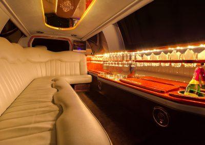 Fahrgastraum, Limo, Bar, LED, Beleuchtung, Scheiben